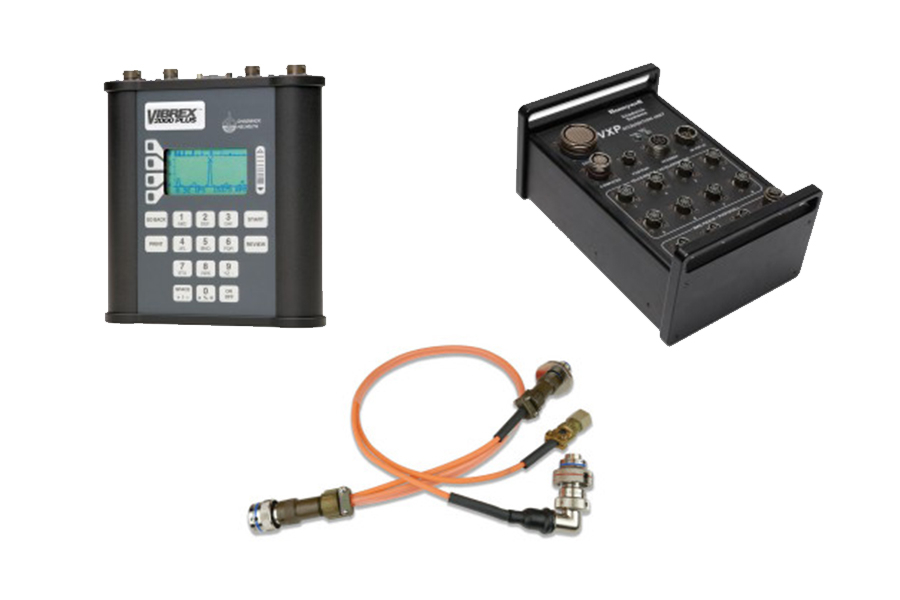 Balance/vibration measuring systems